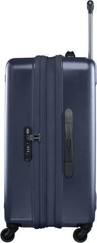 Чемодан Victorinox Etherius 17.1, с возможностью расширения на 4 см, синий, 45x30x67 см, 65 л
