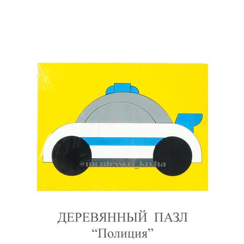 ДЕРЕВЯННЫЕ ПАЗЛЫ «Полиция»