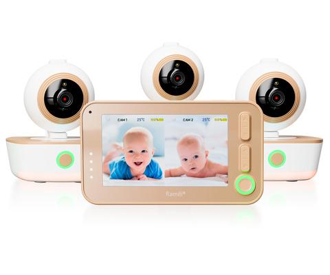 Видеоняня Ramili Baby RV1300 с тремя камерами