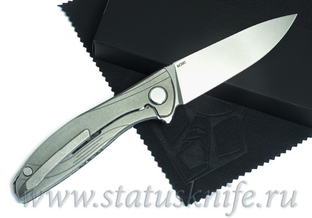 Нож Широгоров ХатиОн Лайт White М390 Lite - фотография