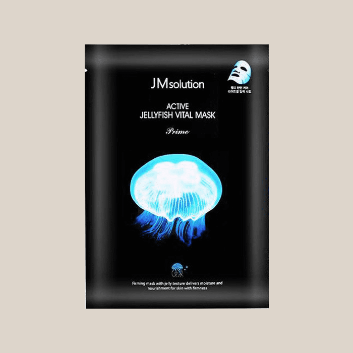 Маска для лица тканевая ультратонкая с экстрактом медузы JM Solution Active Jellyfish Vital Mask Prime