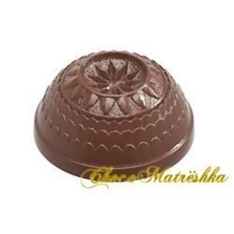 Форма поликарбонатная для шоколада (Бельгия) - Полусфера Арт-дизайн