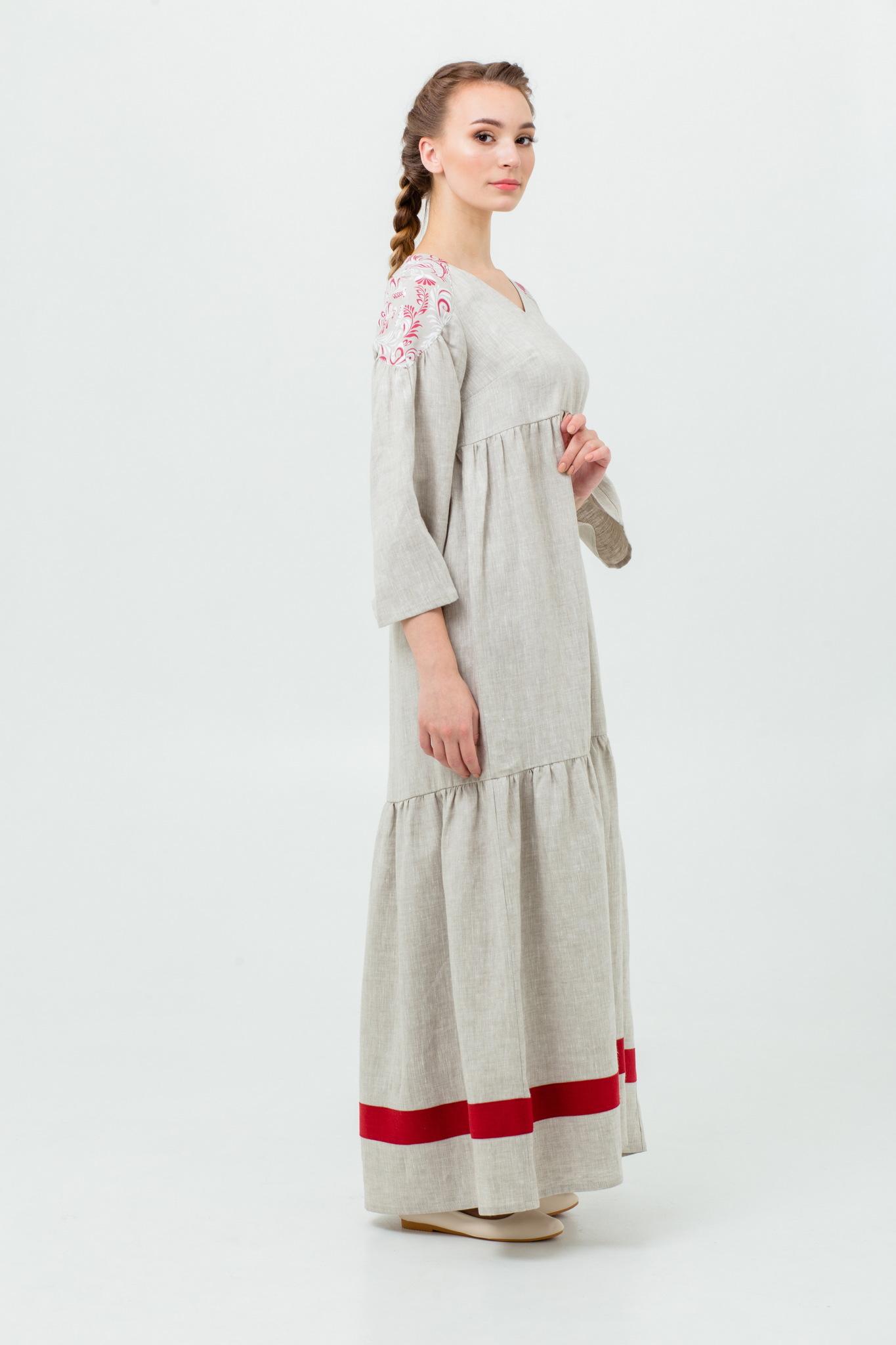 Славянское платье в русском стиле