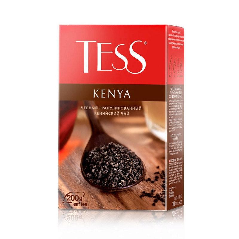 Чай TESS KENYA 200 гр чёрный гранулированный