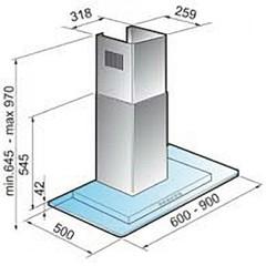 Вытяжка Korting KHC 6956 X