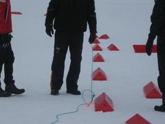 Барьер маркерный ветроустойчивый (V-board)