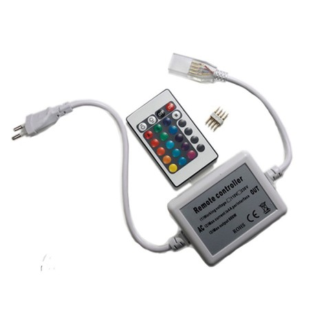 Контроллер для светодиодной ленты RGB, SMD5050/60, с пультом, до 50 метров