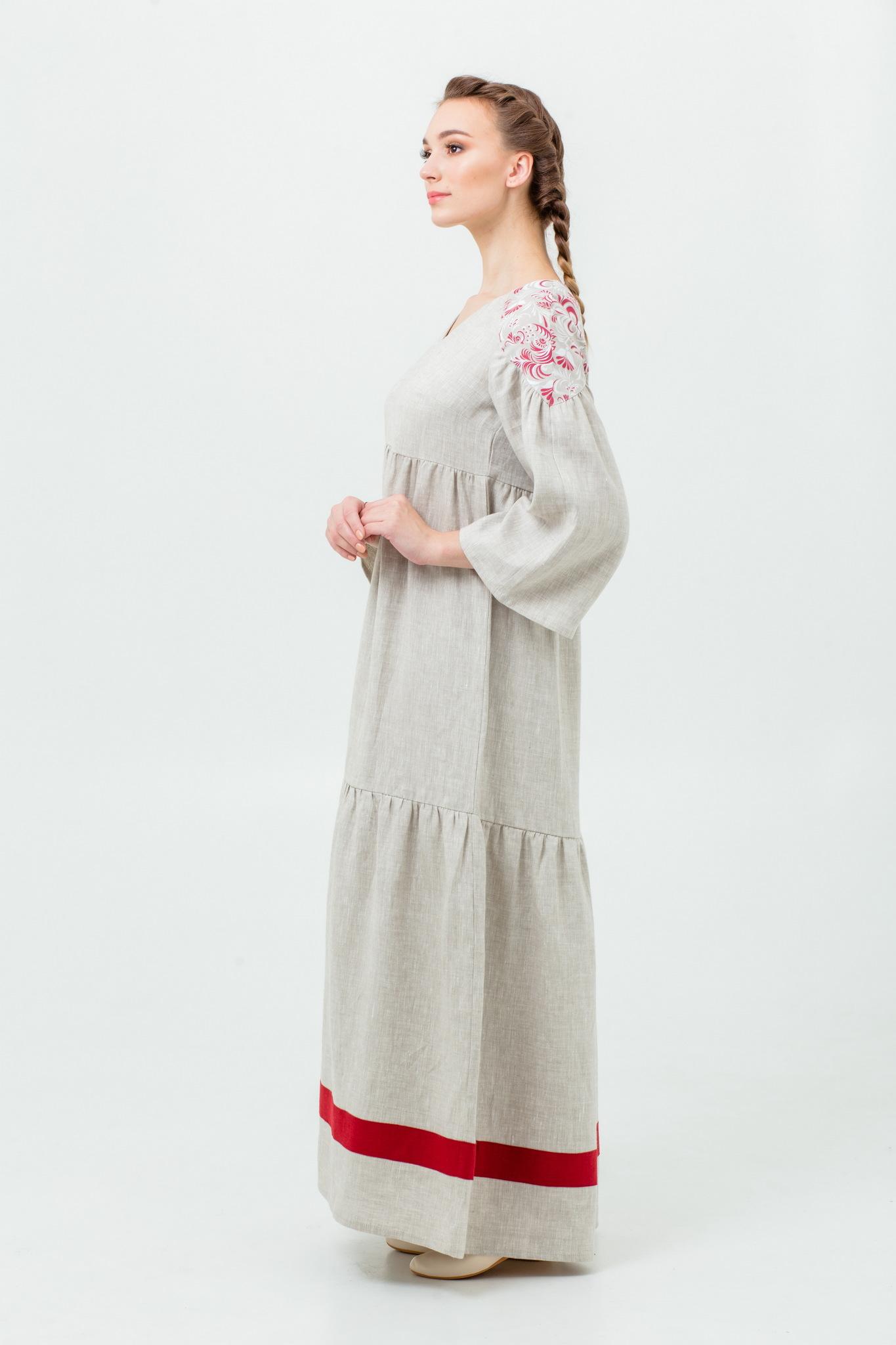Русское платье с доставкой Калинка-малинка