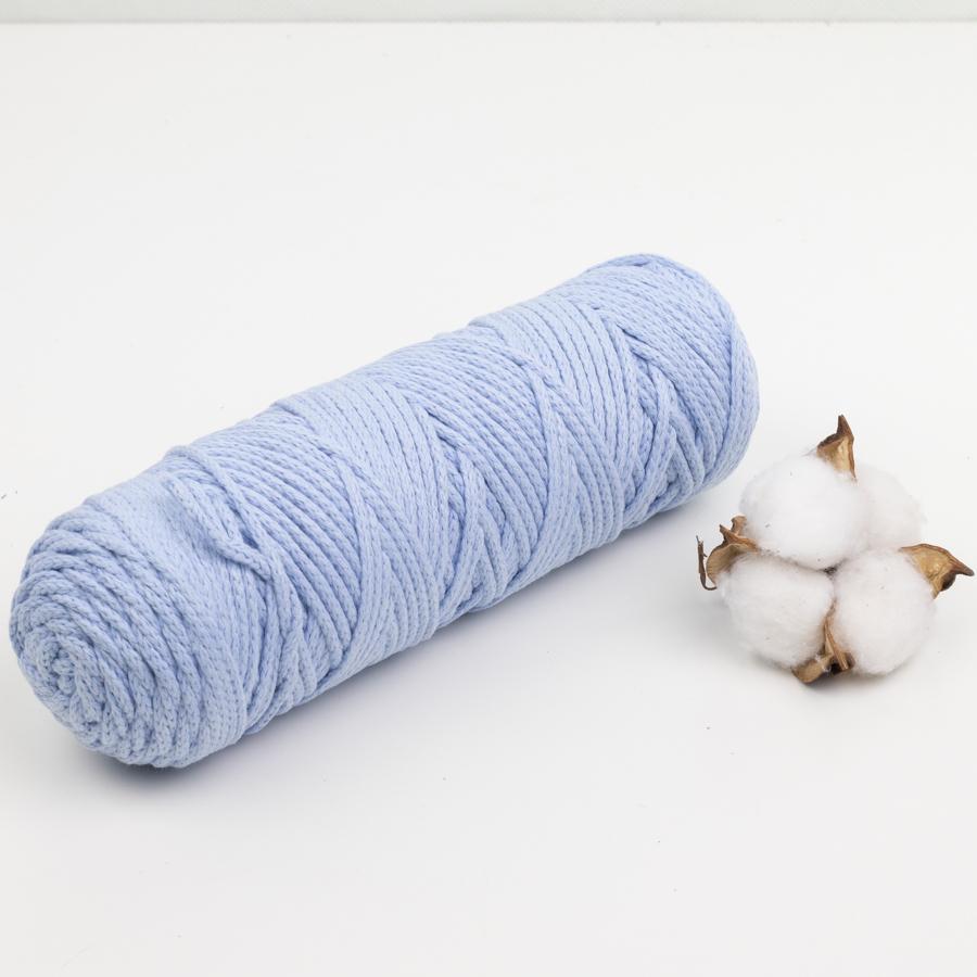 Хлопковый шнур Шнур 4мм  Голубой IMG_1298.jpg