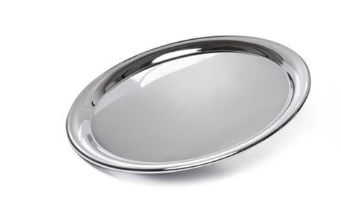 9423 FISSMAN Поднос 35 см, металл хромированный,  купить