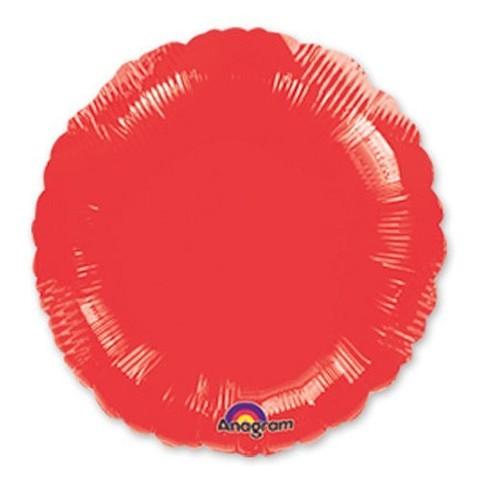 Круг Металлик, Красный (46 см)