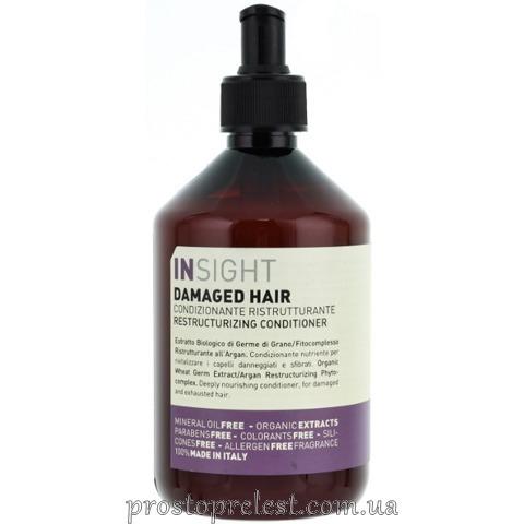Insight Restructurizing Conditioner -Кондиціонер для відновлення пошкодженого волосся
