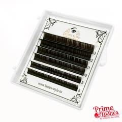 Ресницы Lashes Style микс, Темный шоколад 6 линий