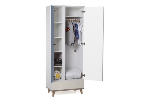 Шкаф LX 31 лаванда-принт