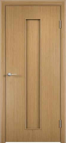 Дверь С-21 (дуб, глухая шпон файн-лайн), фабрика Верда