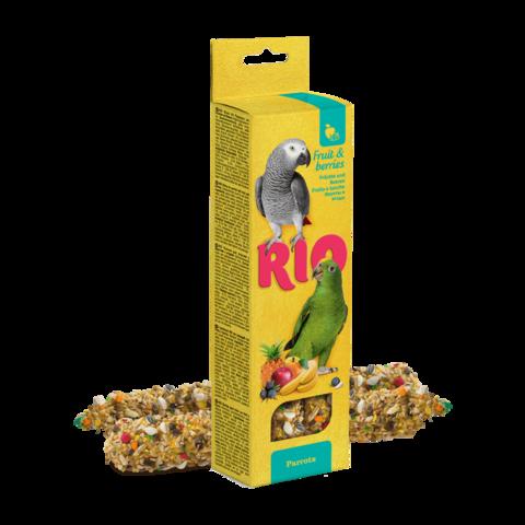 Rio Лакомство для попугаев Палочки с фруктами и ягодами