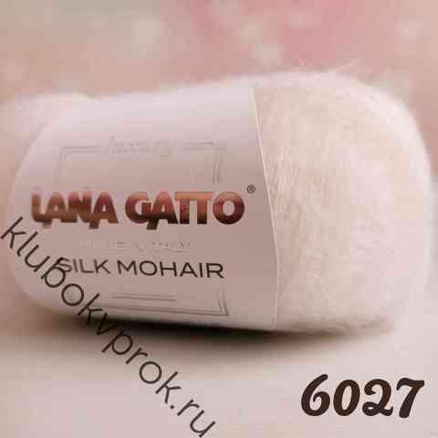 LANA GATTO SILK MOHAIR 6027, Белый