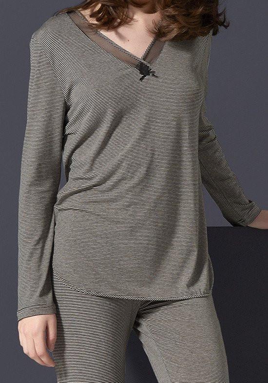 Женская пижама в полоску Rebecca & Bros