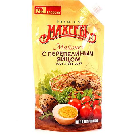 Майонез Махеевъ с перепелиным яйцом 400мл