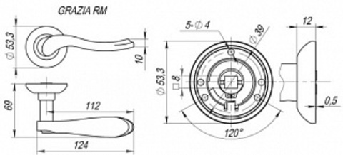 GRAZIA RM SN/CP-3 Схема