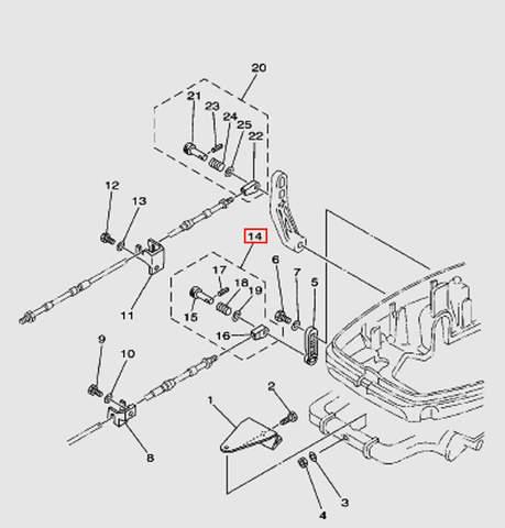 Набор для подключения троса ДУ2 Т30EР (13-14W)