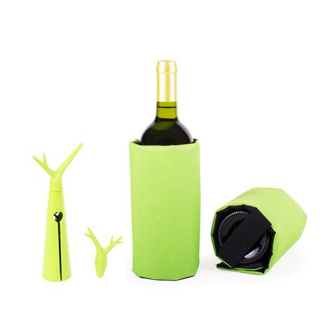 Набор для вина Forest зеленый