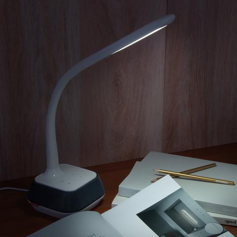 Настольный светодиодный светильник 80417/1 белый