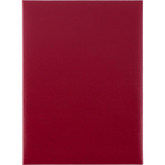 Папка адресная А4 бумвинил красная