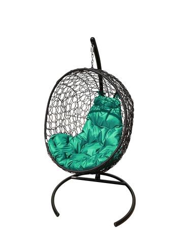 Кресло подвесное Porto black/green