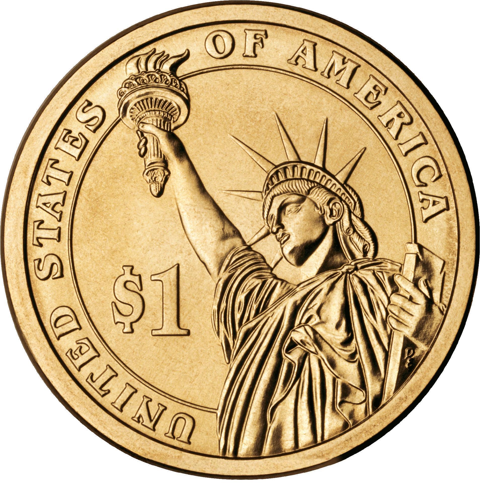 1 доллар Президенты США 40 штук 2007-2020 гг. (двор D)