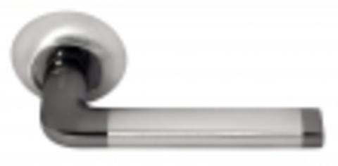 Ручка дверная DIY MH-03 SN/BN