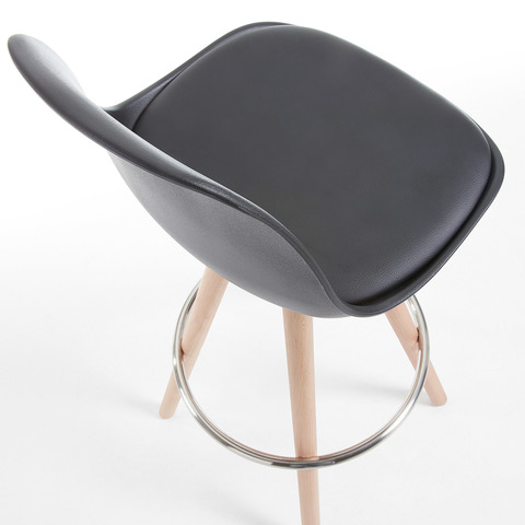 Барный стул Stag черный
