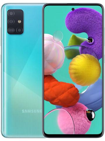 Смартфон Samsung Galaxy A51 64GB (Голубой)