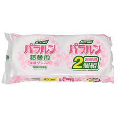 Саше против плесени и насекомых Kiyou Jochugiku для платяных шкафов в коробке сменная упаковка 2 шт
