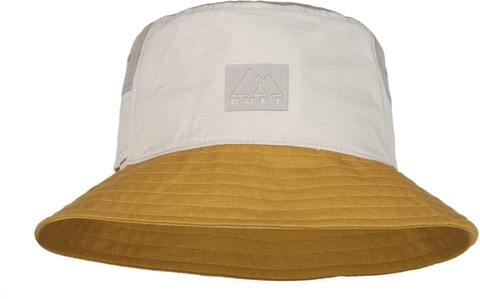 Панама хлопок Buff Sun Bucket Hat Hak Ocher фото 1