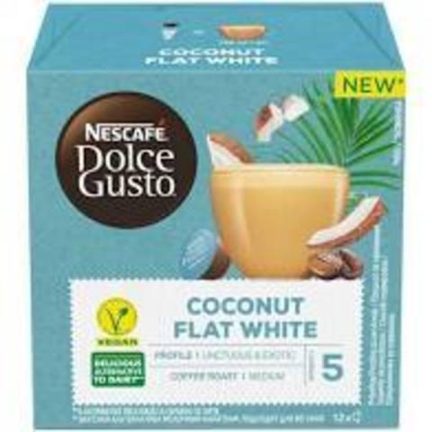 Кофе в капсулах NESCAFÉ Dolce Gusto Coconut flat white, 12 порций, 12 капс.