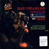 Ray Charles / Genius + Soul = Jazz (LP)