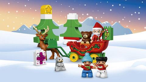 LEGO Duplo: Новый год 10837 — Santa's Winter Holiday — Лего Дупло