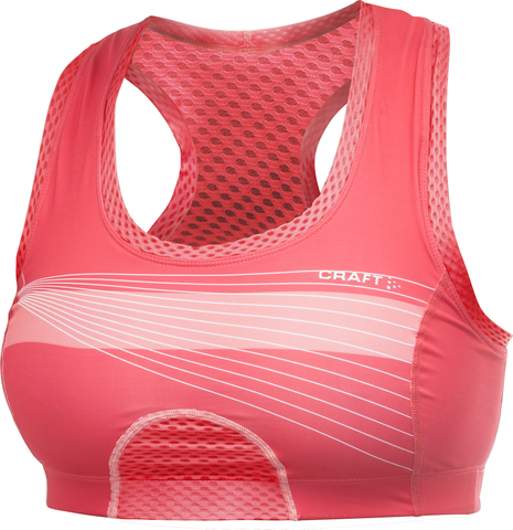 Бюстгальтер Craft Cool Sport Super Bra розовый