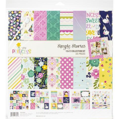 Набор бумаги Simple Stories Collection Kit 12