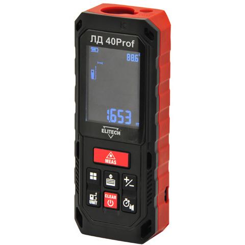 Дальномер лазерный ELITECH ЛД 40Prof