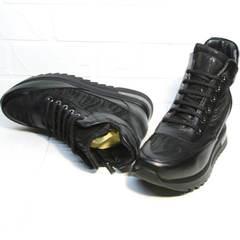 Сникерсы кроссовки женские Evromoda 965 Black