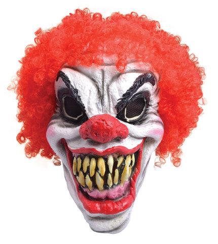 Маска Клоун ужасный в парике