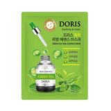 Тканевая маска для лица с экстрактом зеленого чая Doris