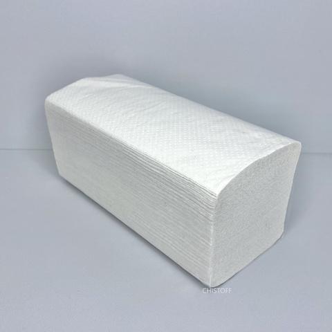 Полотенце бумажное макулатурное Papero Эко V сложения 2сл. 210х220 мм (160 л.) (ERV001)