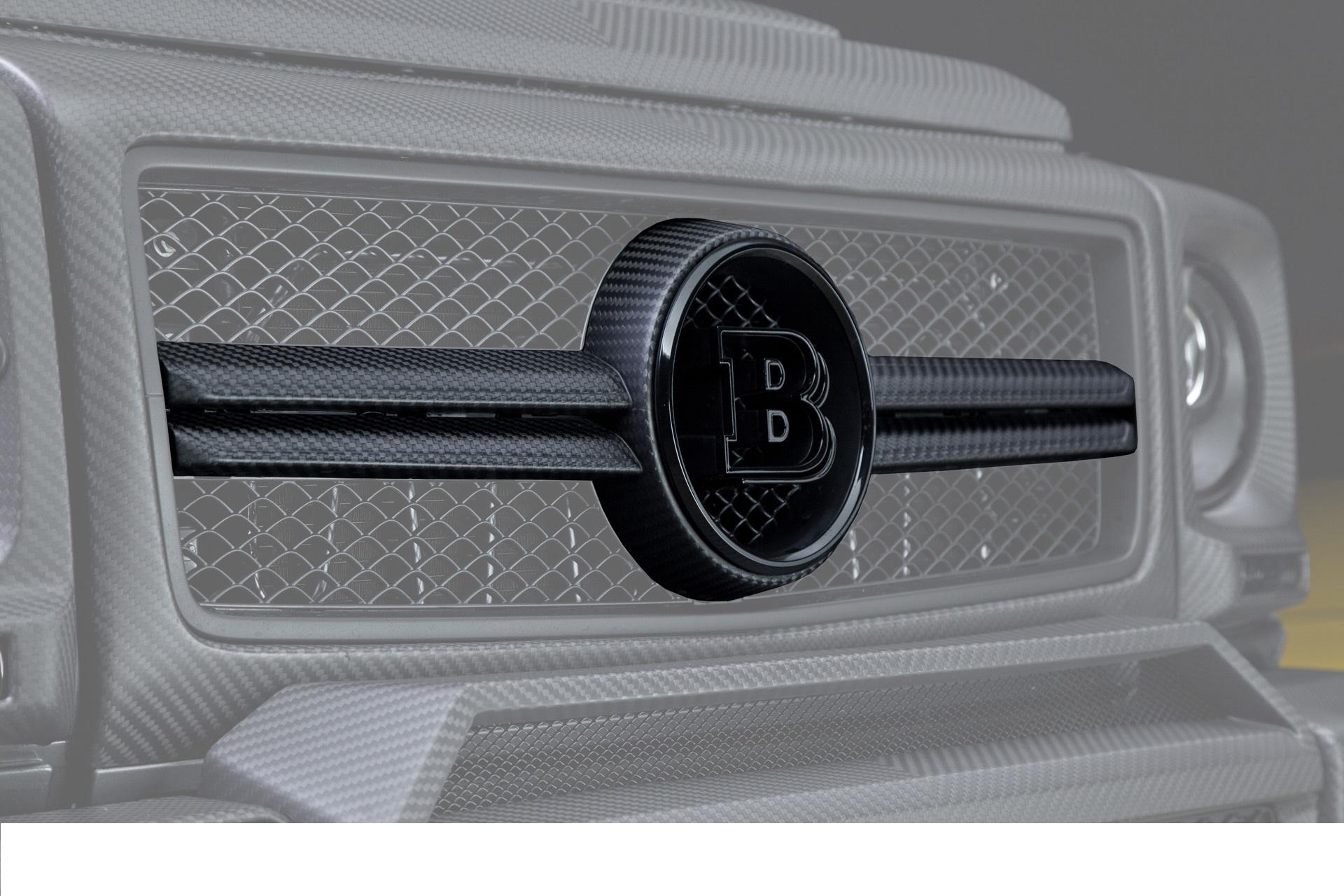Карбоновая решетка радиатора Brabus Style для Mercedes G-class W463