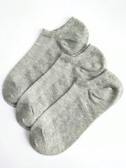 Носки женские (6 пар ) с сетчатой вставкой арт.233 СЕРЫЙ