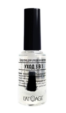 l`atuage Средство для ногтей УХОД 3 В 1  9г