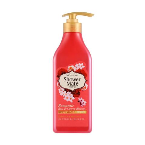 Shower Mate Гель для душа с ароматом розы и вишневый сад