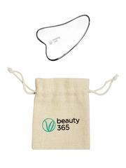 Скребок гуаша Лепесток, массажер для лица и тела, Beauty365 (Бьюти 365)